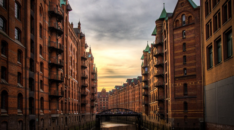 River Buildings Hamburg
